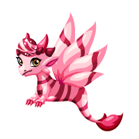 Rose Tigereye Dragon