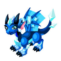 Frost Sapphire Dragon