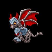Skeletal Knight Dragon