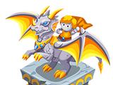 Dragonrider Statue
