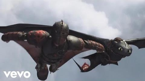 """""""Where No One Goes"""" (How To Train Your Dragon 2) Official Lyric Video"""