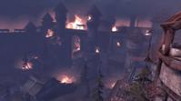 City of Amaranthine on fire I
