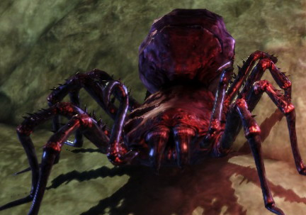 Corrupted spider
