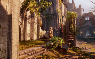 Elven Ruins - Shrine to the Dread Wolf