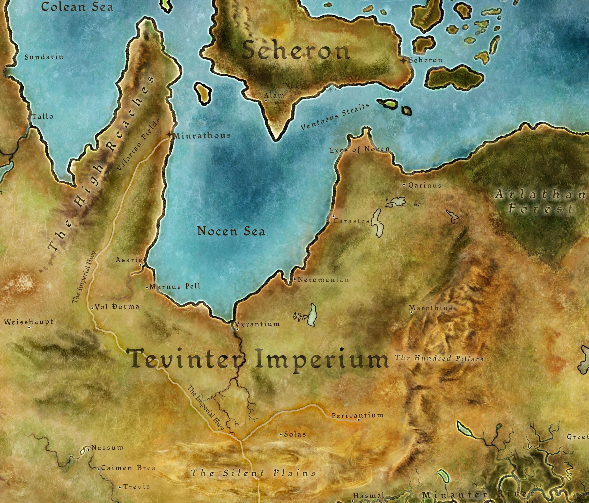 Kodexeintrag: Das Reich von Tevinter (Dragon Age II)
