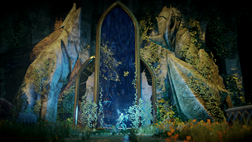 Fen'Harel and Mythal statues