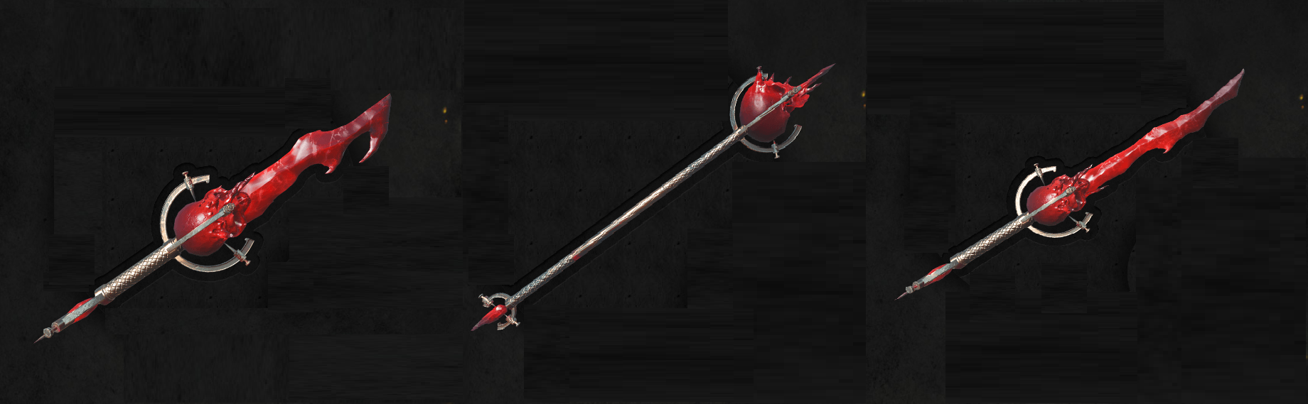 Red Lyrium Reapers Weapons Pack