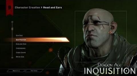DRAGON AGE™ INQUISITION Características de juego – Creación de Personajes