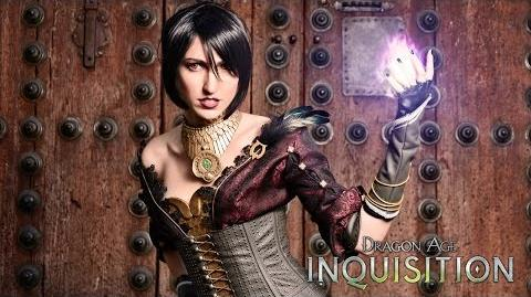 DRAGON AGE™ INQUISITION Cosplay de Morrigan-0