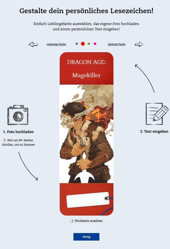Mehra Milo/Dragon Age - Lesezeichen