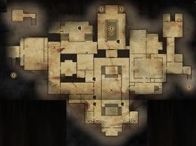 Winter Palace Main Level Map