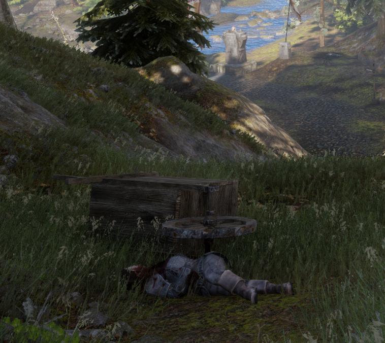 Note: A Letter Found on a Dead Dwarf (Broken Bridge)