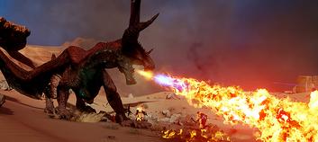 Abyssal Dragon Fire
