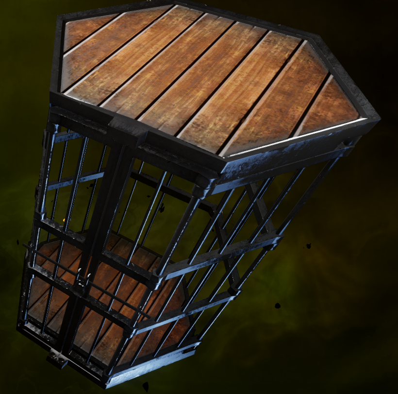 Hinterlands Cage Requisition
