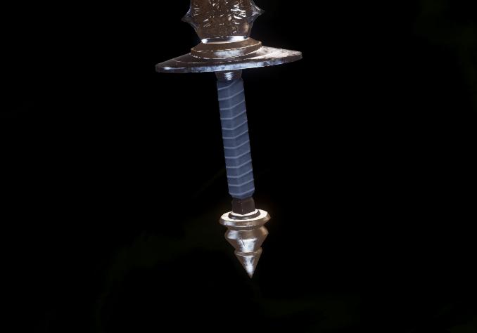 Гномья рукоять для длинного меча (Уровень 15)
