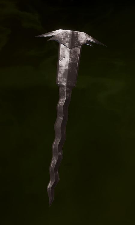 Masterwork Archon Staff Blade Schematic