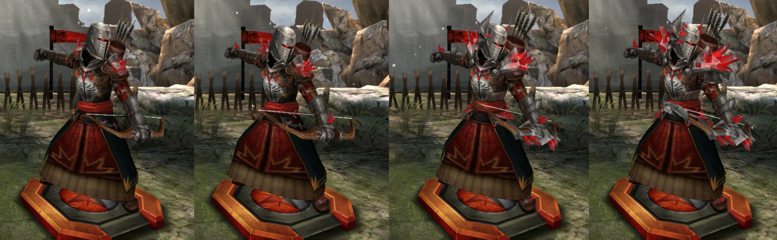 HoDA Red Templar Archer Tiers