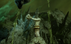 Here Lies the Abyss - Statue