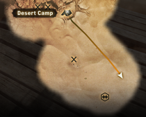 Location of well Forbidden Oasis
