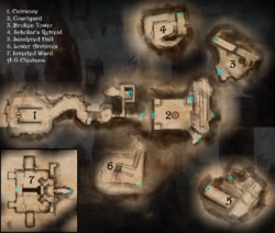 Shattered Library - Map