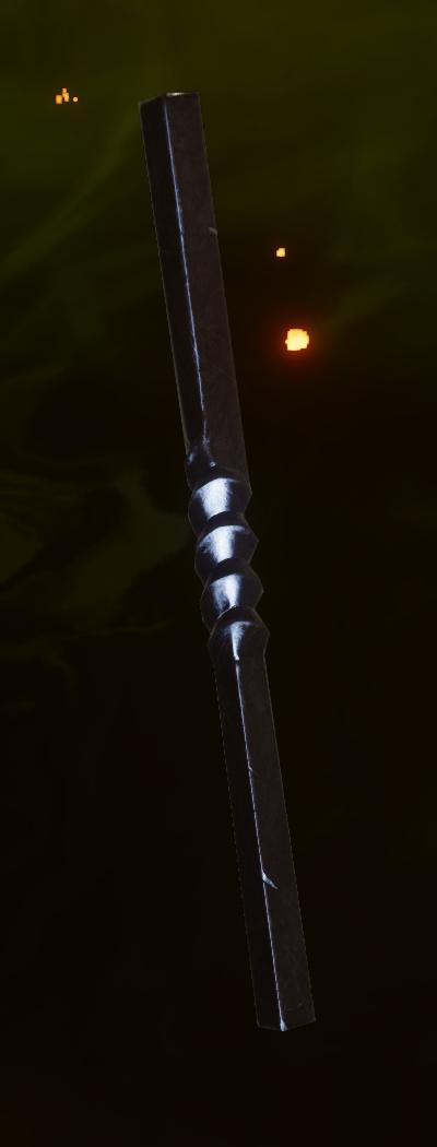 Masterwork Battlemage Staff Grip Schematic