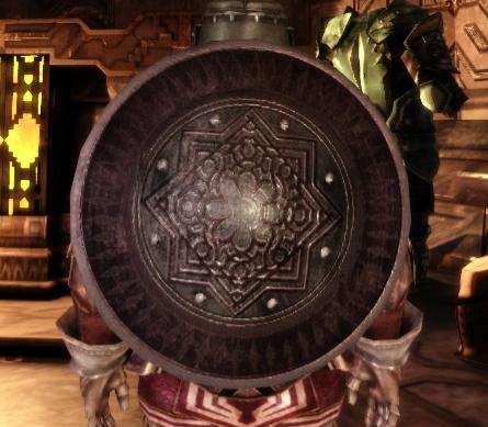 Dwarven Large Round Shield