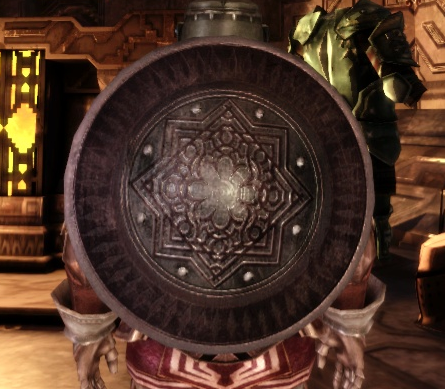 Большой круглый гномий щит
