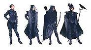 Антиванские вороны костюмы