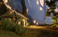 Die Hütte mit dem zweiten Hinweis