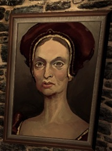 Codex entry: Portrait of the Dowager