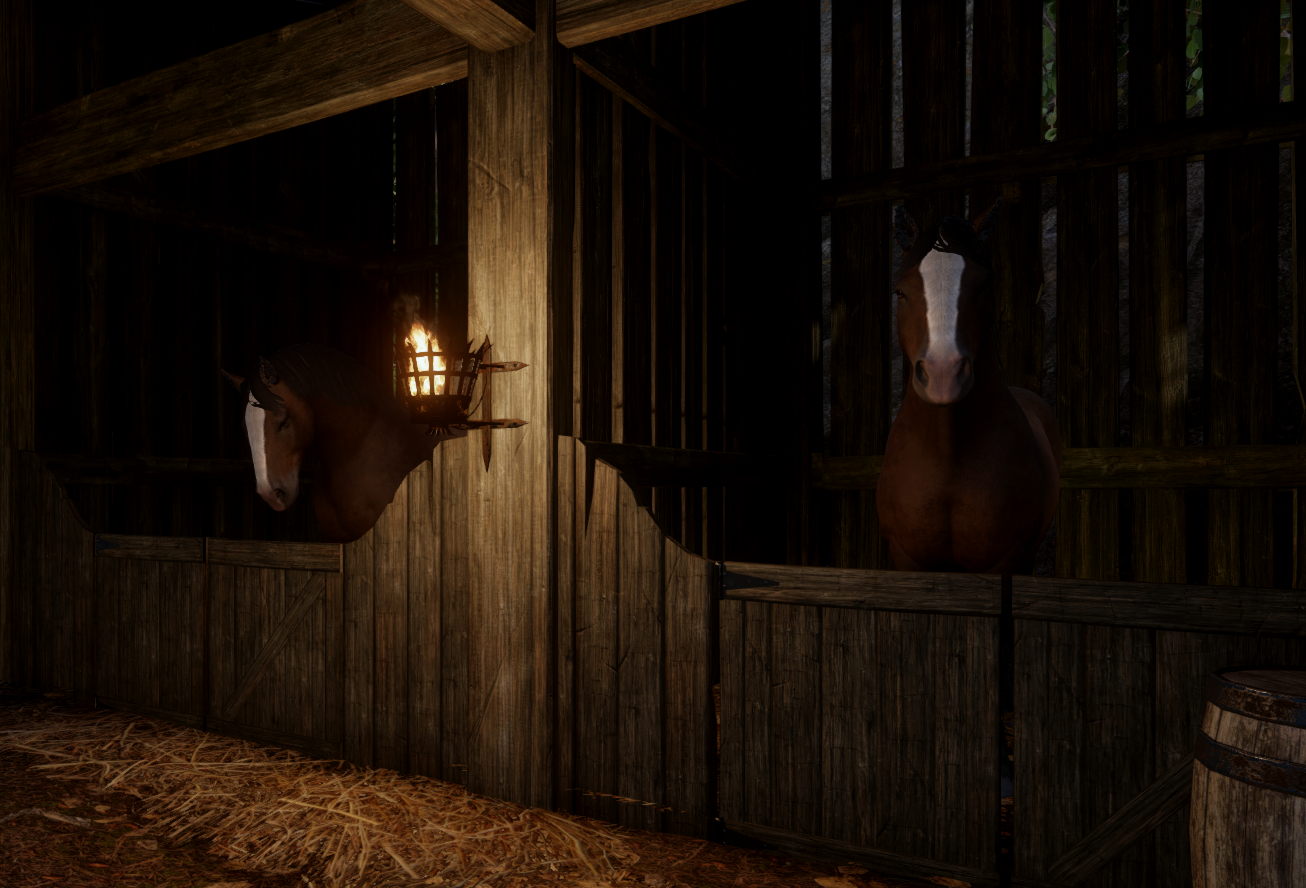 Horses for the Inquisition