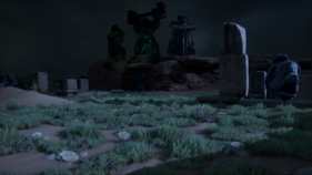 The Burial Grounds Tomb Hissing Wastes
