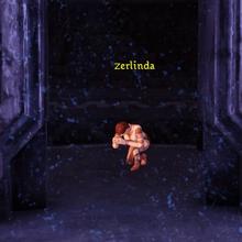 Zerlinda in Orzammar chantry.png