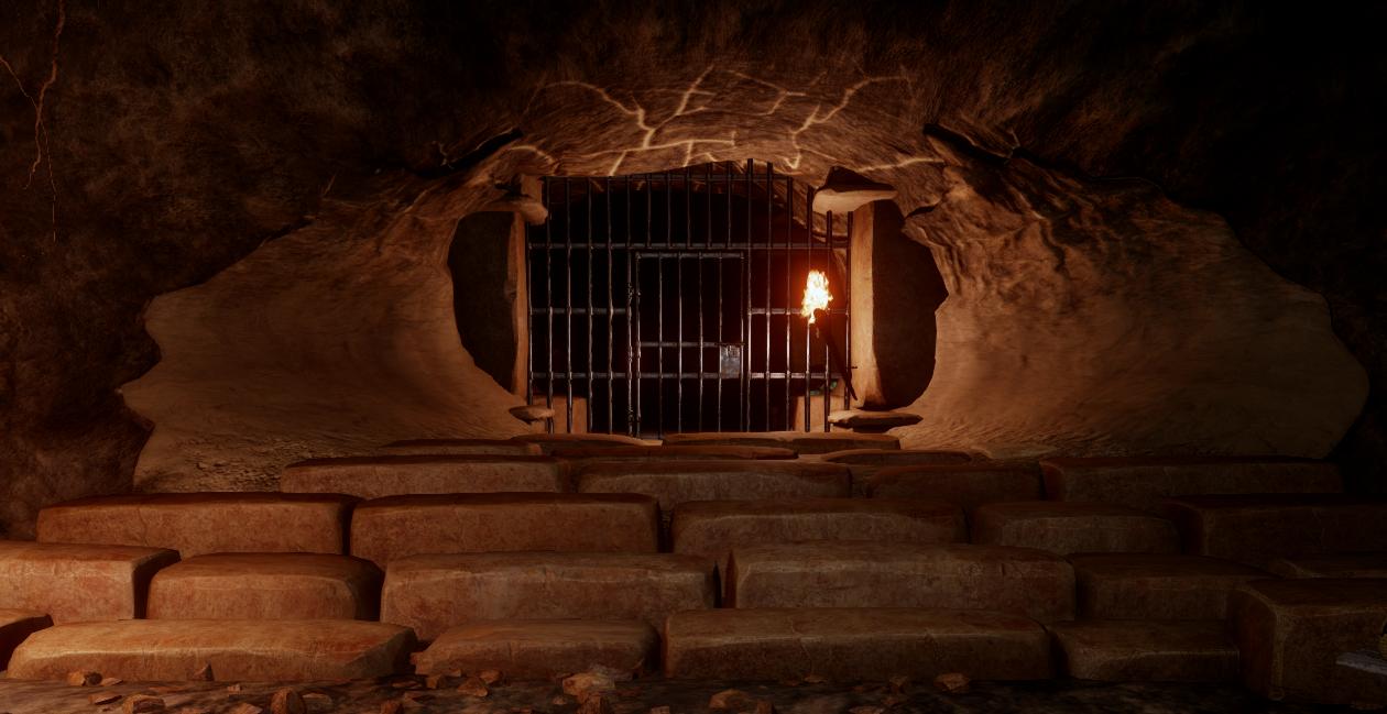 Дверь в пещере Пар'ас