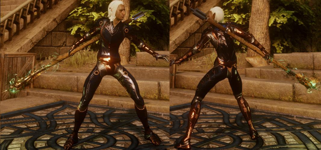 Arcane Warrior's Armor (Heart)