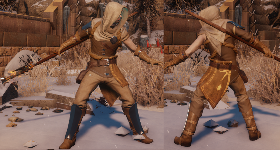 Elementalist's Inquisition Warmage Robes (Perseverance)