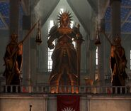Andraste-Statue DA2 KathedralevKirkwall