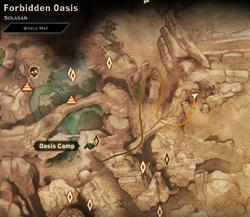Mosaic piece Forbidden Oasis1