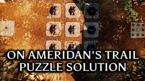 Dragon Age Inquisition - Jaws of Hakkon DLC - 'On Ameridan's Trail' Puzzle solution
