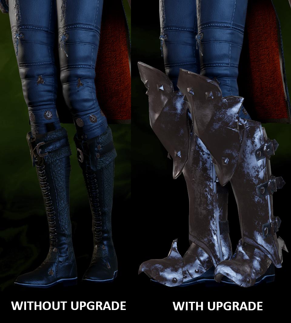 Superior Battlemage Mail Legs