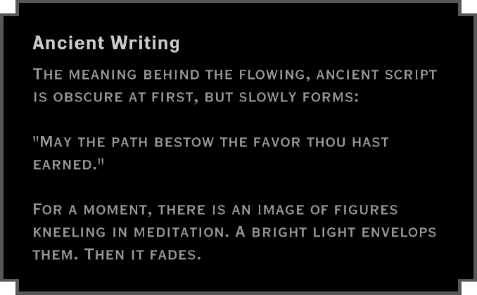 Note: Ancient Writing