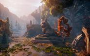 Elven Ruins - Gully