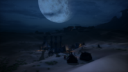 Hissing Wastes - Inquisition camp in the Sand Crags