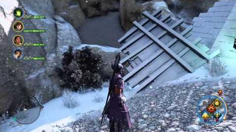 Video that shows how to get to the staircase.