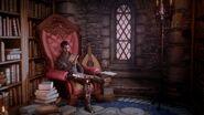Dorian liest in Himmelsfeste