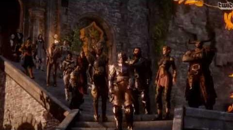 Dragon age inquisition Characters Trailer - All Characters
