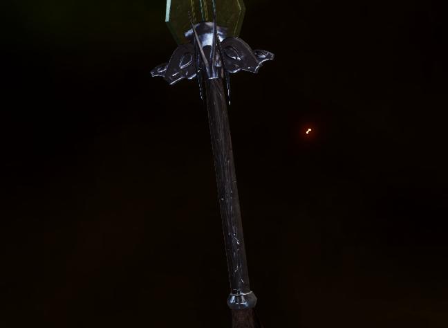 Крылатая рукоять для большого меча