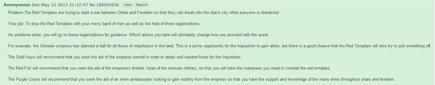TemplarCode/Dragon Age: Inquisition - Agenten-System Infos