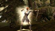 Leliana with bow