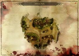 Map-Hillside Path